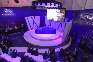 Q50 European reveal at Geneva Motor Show