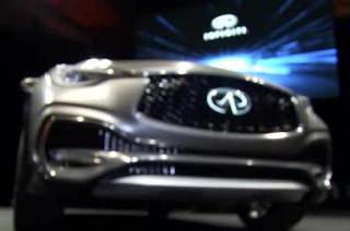 Infinti at the Geneva Motor Show