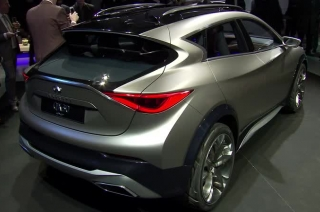 Infinti at the Geneva Motor Show B-Roll