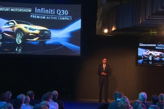Infiniti Q30 - Start of Production Highlights